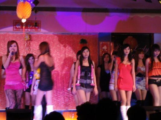 Girls at Fashion show