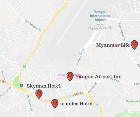 massage near Yangon airport